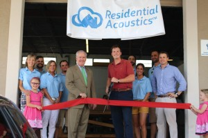 Ribbon Cutting Residential Acoustics