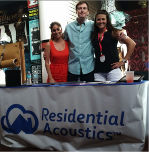 Our Residential Acoustics team at OneSpark!