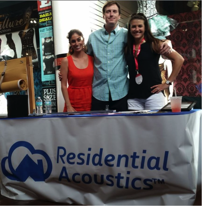 Trade Show Soundproofing Team
