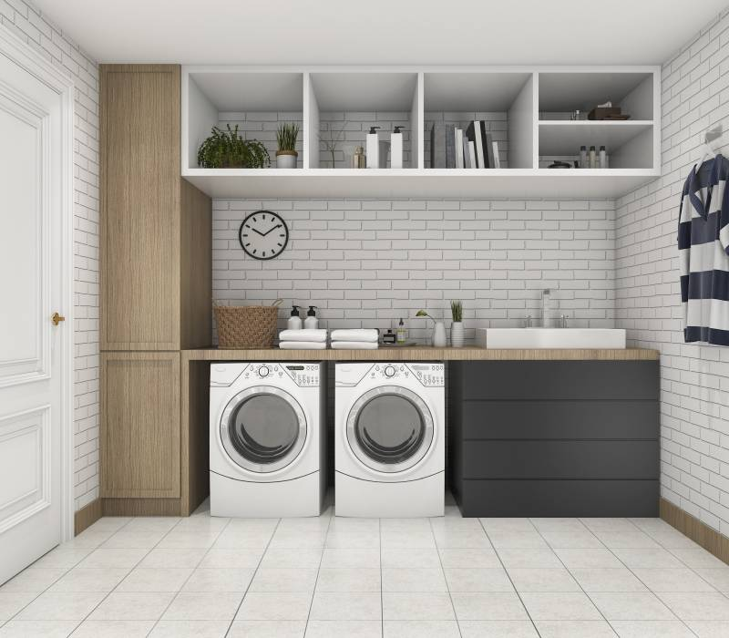Best Laundry Room Location: Soundproof Your Laundry Room