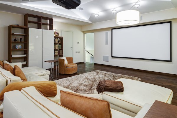 soundproof media room