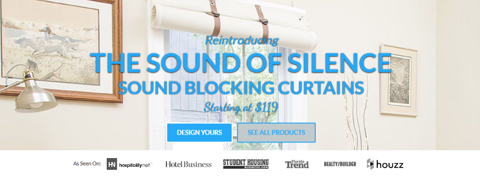 Soundproof Curtains From Residential Acoustics 174