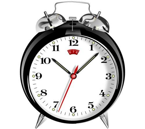 alarm clock for sleep schedule