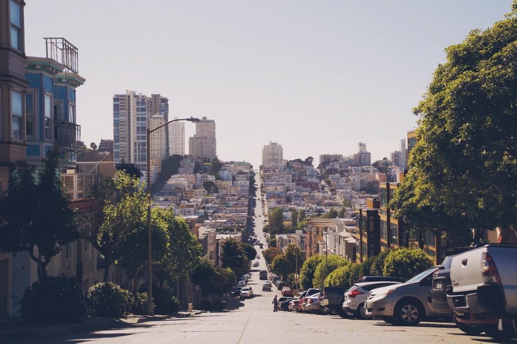 Noisy City Street