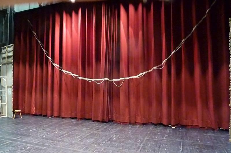 velour absorption curtains